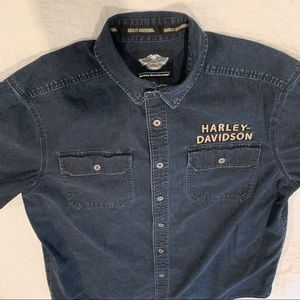 Harley-Davidson Long Sleeve Denim Shirt